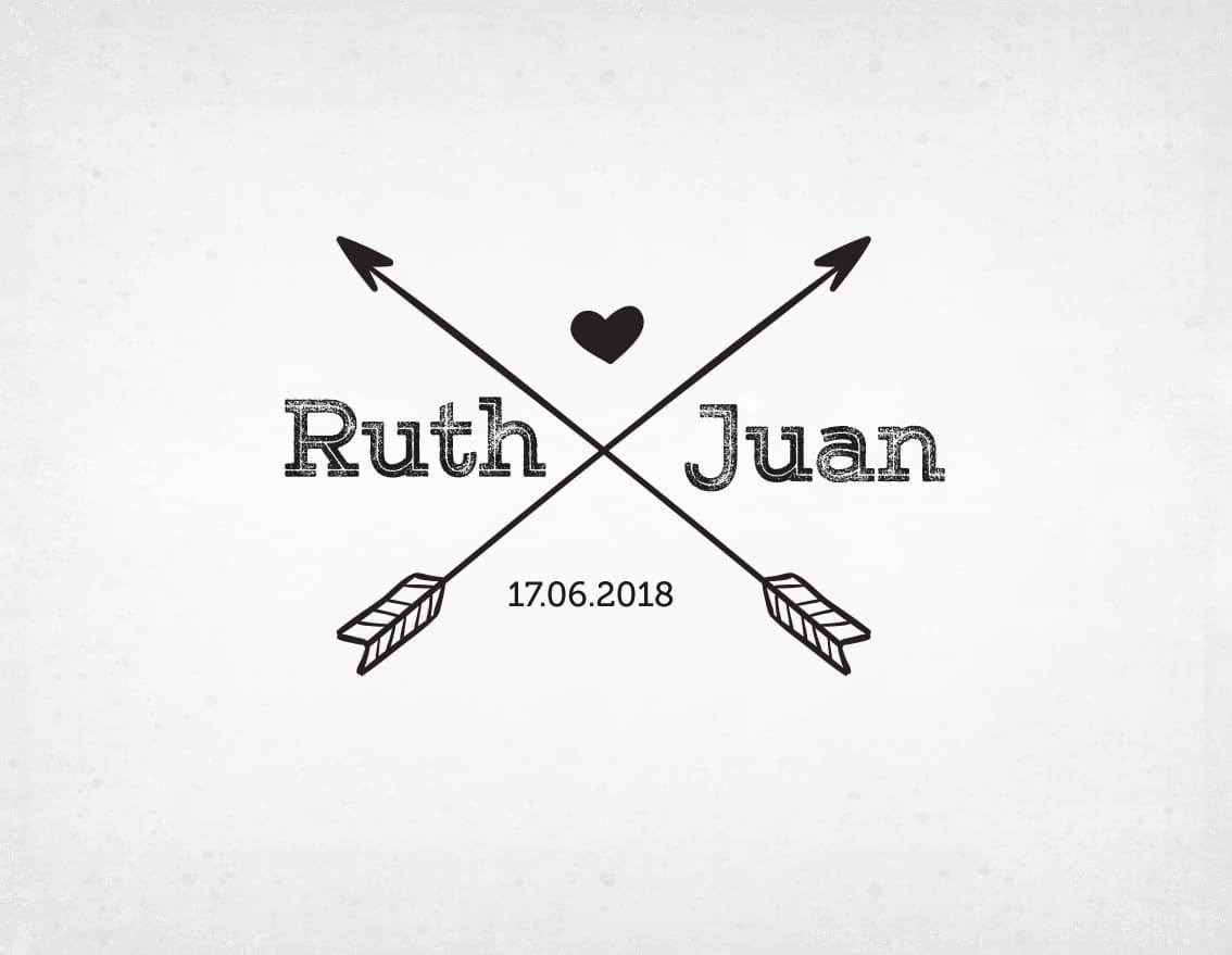sello-boda-flechas-ruth-y-juan