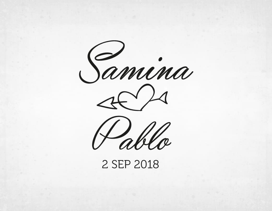 sello-boda-flechas-samina-y-pablo
