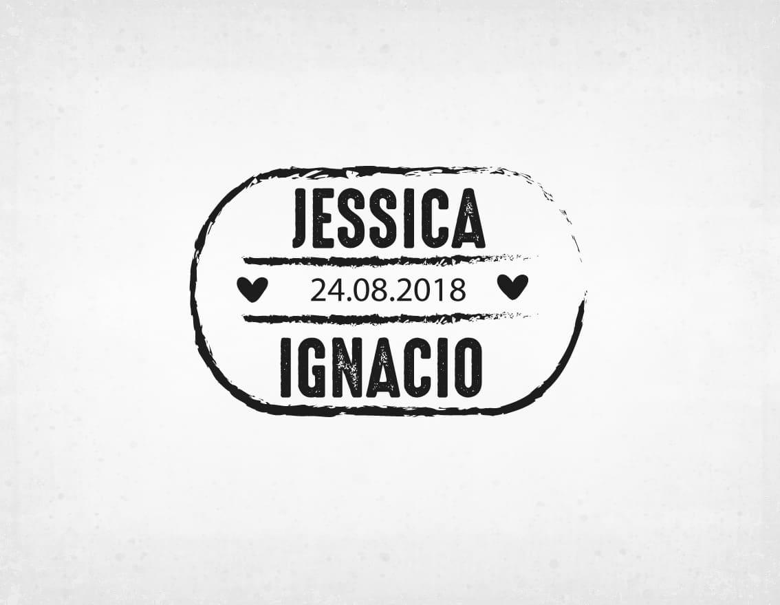 sello-boda-moderno-jessica-y-ignacio
