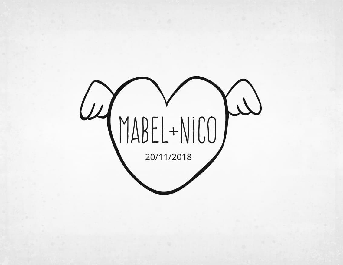 sello-boda-moderno-mabel-y-nico