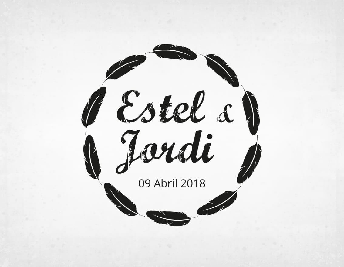 sello-boda-retro-estel-y-jordi