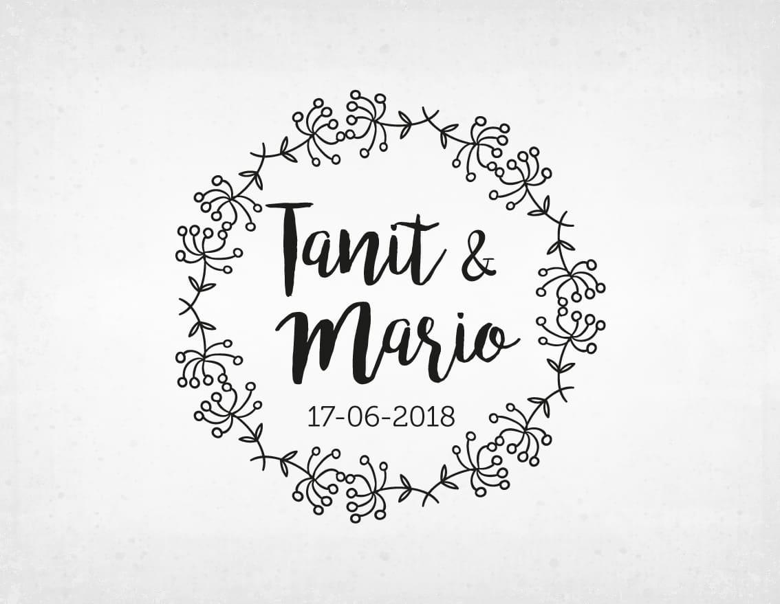 sello-boda-vintage-Tanit-y-mario