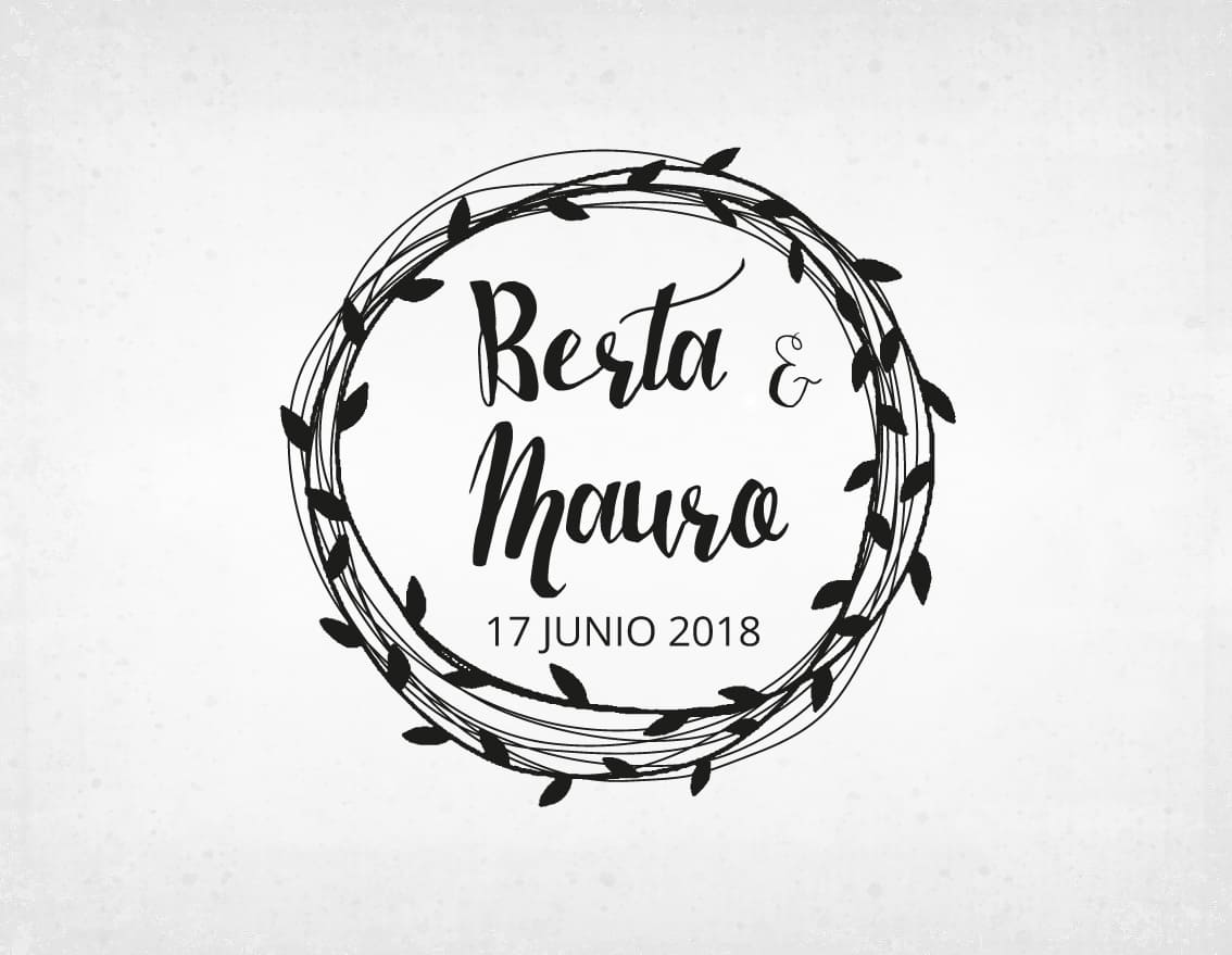 sello-boda-vintage-berta-y-mauro
