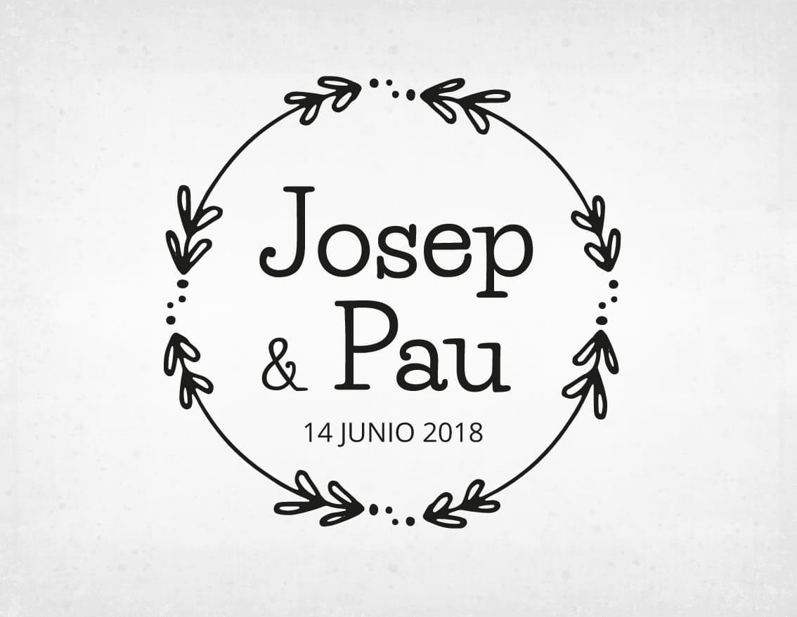 sello-boda-vintage-josep-y-pau