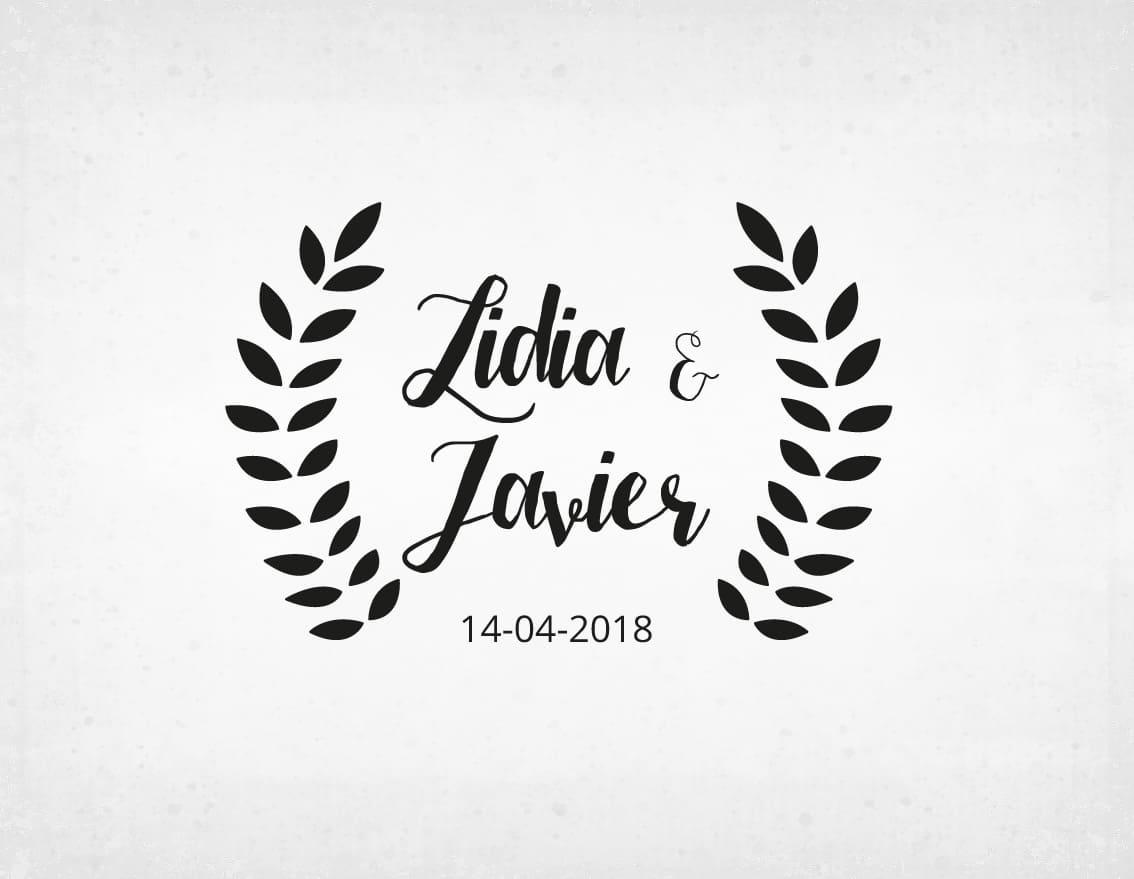 sello-boda-vintage-lidia-y-javier