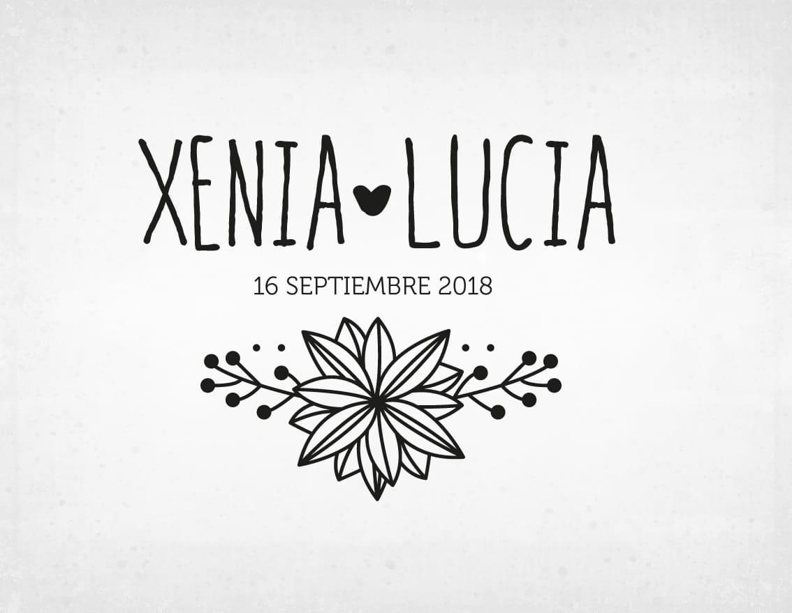 sello-boda-vintage-xenia-y-lucia