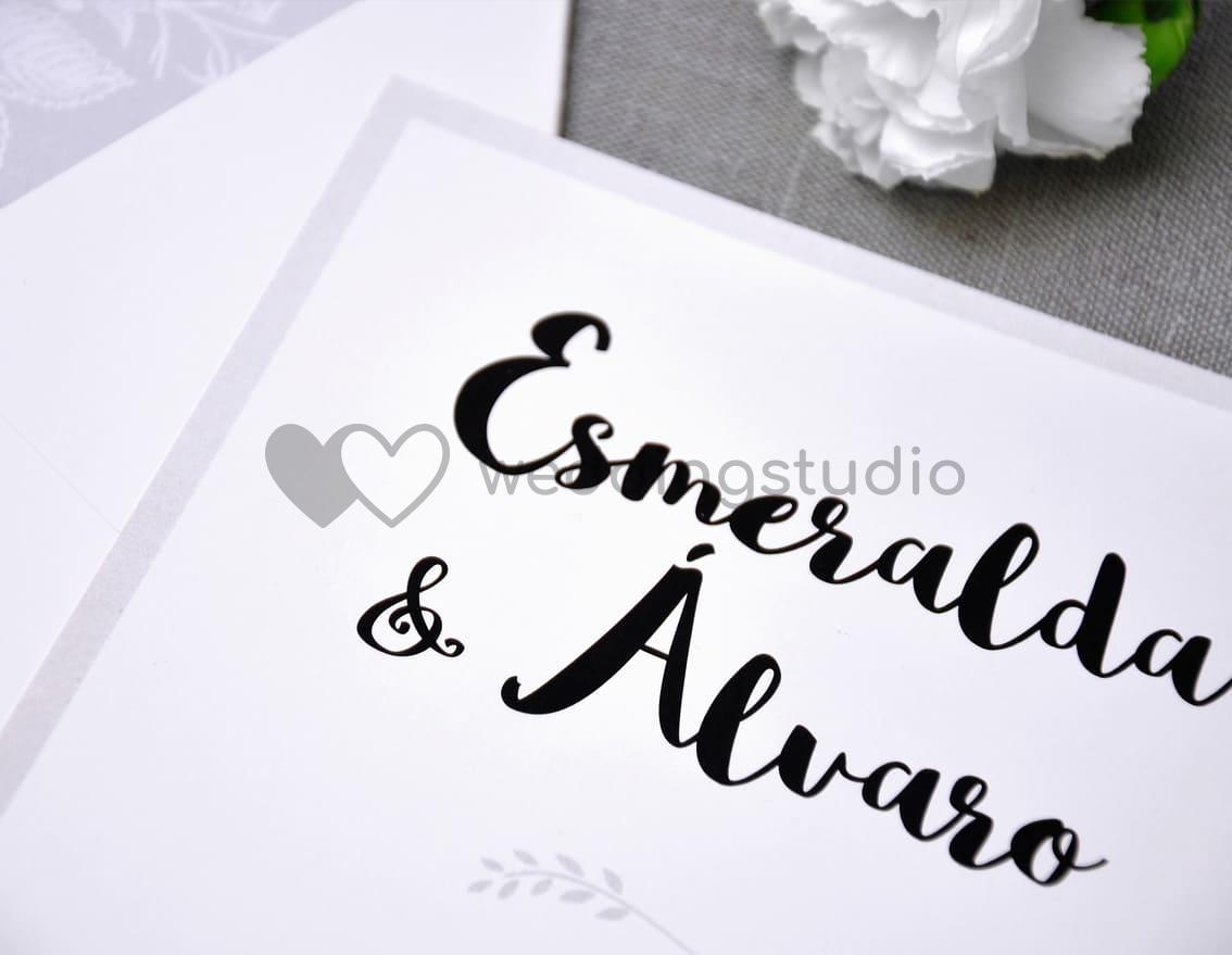 """Invitación de boda """"SIEMPRE JUNTOS"""""""