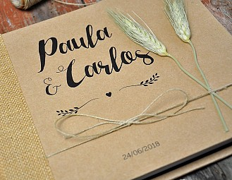 "Libro de firmas ""NUESTRA WEDDING COOL"""