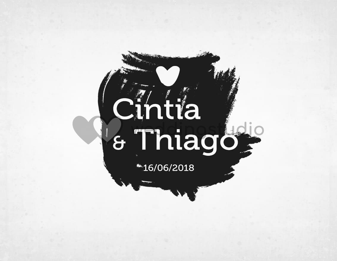 """Sello boda """"MÁNCHAME DE LOVE"""""""