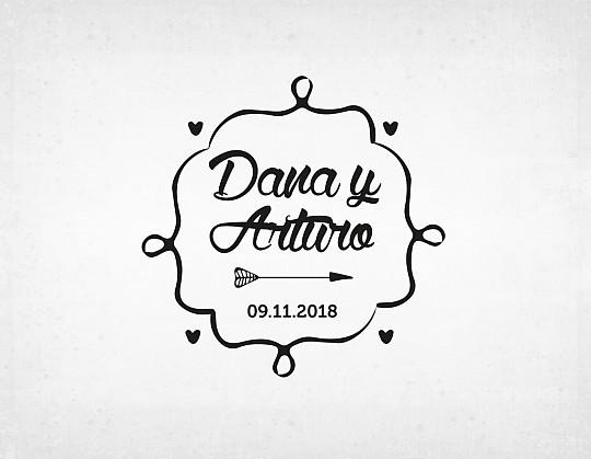 sello-boda-retro-dana-y-arturo