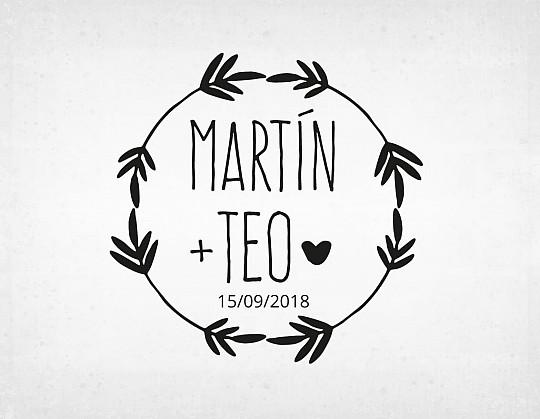 sello-boda-vintage-martin-y-teo